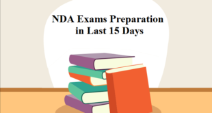 How to prepare for NDA exams in last 15 days
