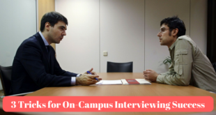 campus interview tips