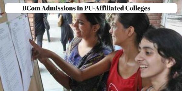 BCom Admissions in PU-Affiliated Colleges Started, Register Now