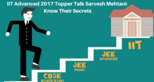 IIT Advanced 2017 Topper