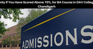 Chandigarh college admissions